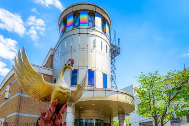 Exterior del Museo del Manga Tezuka Osamu, Tokio (Japón)