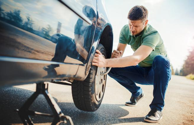 Ante cualquier irregularidad en la rueda, lo mejor será sustituirla