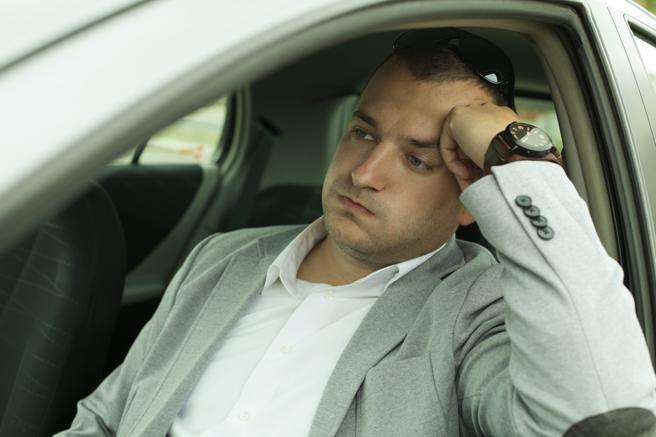 Los atascos cansan mucho a los conductores