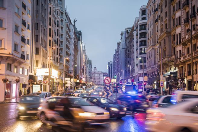 Madrid es la ciudad más congestionada de España