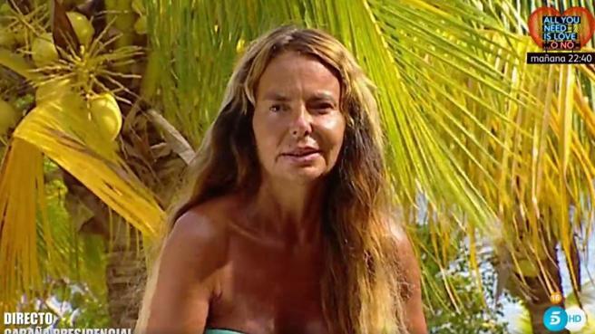 Leticia Sabater en Supervivientes.