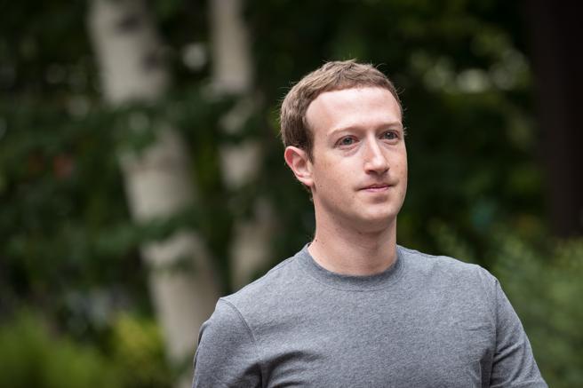 Mark Zuckerberg en una imagen de archivo