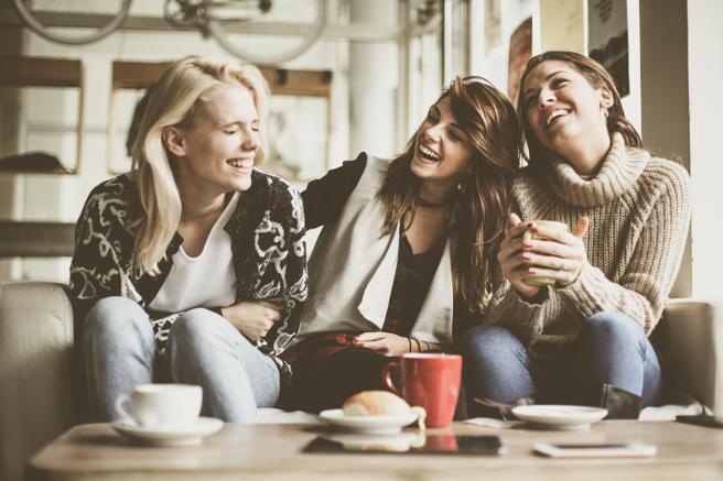 Reencuentro con los amigos