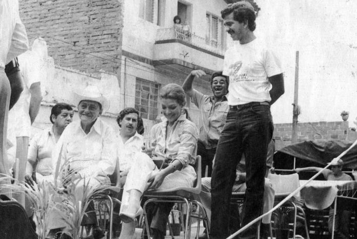 La presentadora Virginia Vallejo acompañó a Pablo Escobar, primero como periodista y luego como amante