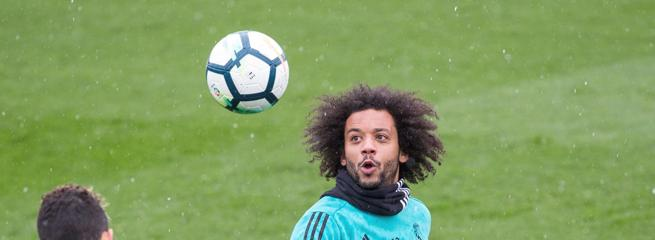 Marcelo, lateral del Real Madrid