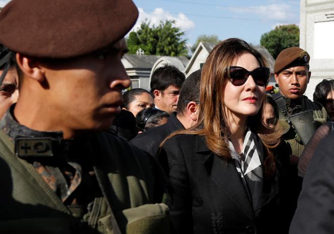 Zury Rios, hija del dictador