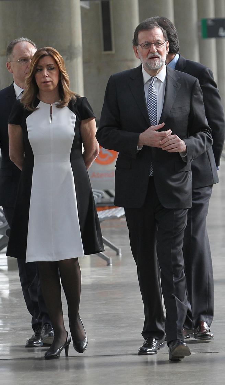 Susana Díaz y Rajoy
