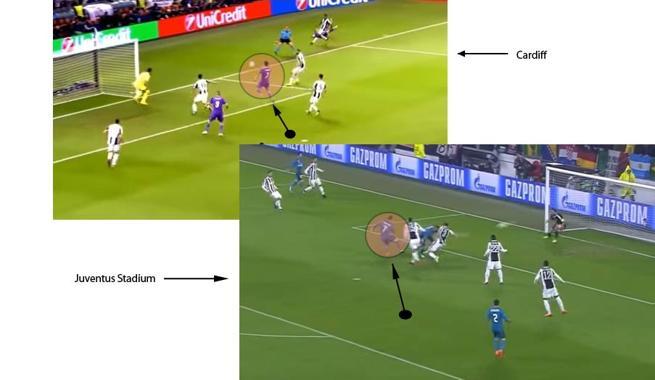 Cristiano y el primer palo, una de las claves del Juventus - Real Madrid