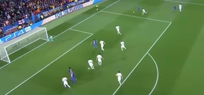 El balón parado, una de las claves del Barça - Roma
