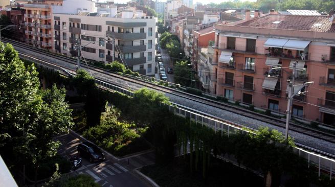 El viaducto que divide Girona tenía que desaparecer según el proyecto ferroviario inicial