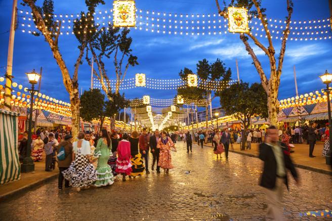 Madrid replicará el ambiente de las calles del Real de la Feria de Abril.
