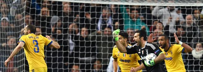 La indignación de la Juventus en una imagen
