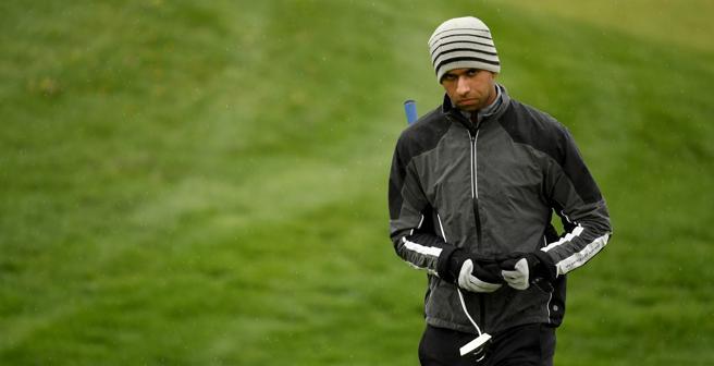 Día duro en el Centro Nacional para los golfistas, incluido Aaron Rai