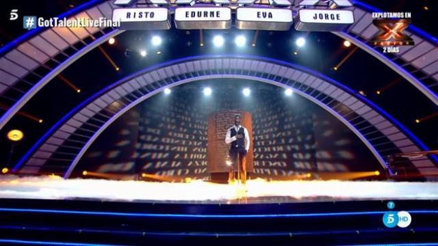 César Brandon, ganador de la tercera temporada de 'Got Talent España'