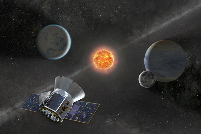 TESS se situará en una órbita elíptica muy alargada hasta ahora jamás usada que le pemiritá realizar observaciones durante 13 días seguidos de un sector de cielo.