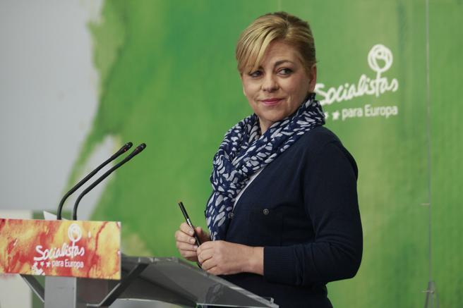La vicepresidenta del grupo socialista en el Parlamento Europeo, Elena Valenciano