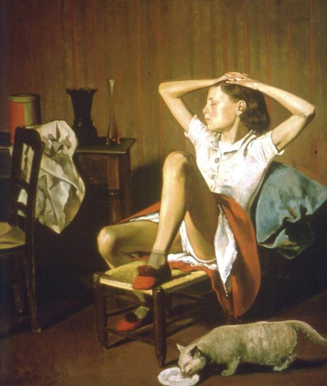 'Therese Dreaming' de Balthus