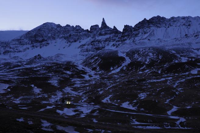 Una de los paisajes de 'Islandia bajo cero. 21 historias del frío'