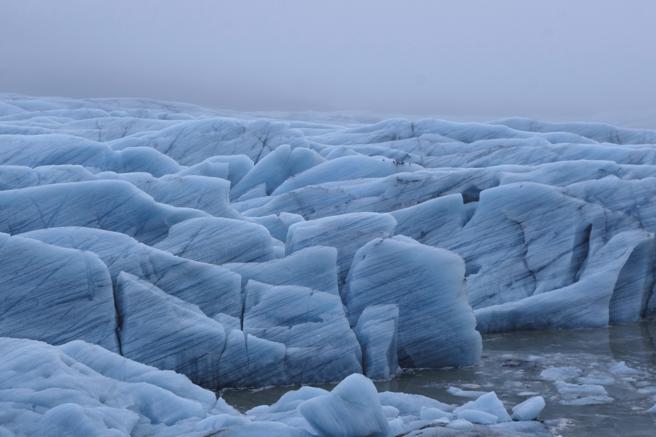 Uno de los glaciares que se recogen en 'Islandia bajo cero. 21 historias del frío'