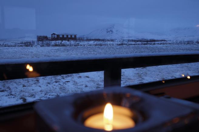Una de las vistas que se recogen en 'Islandia bajo cero. 21 historias del frío'