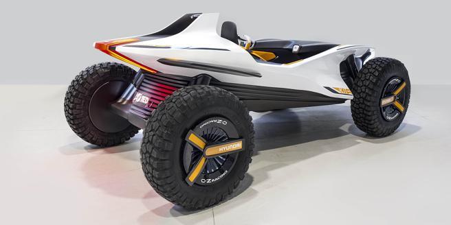 Con su estética rompedora, ha sido diseñado para disfrutar de la conducción off-road sobre dunas