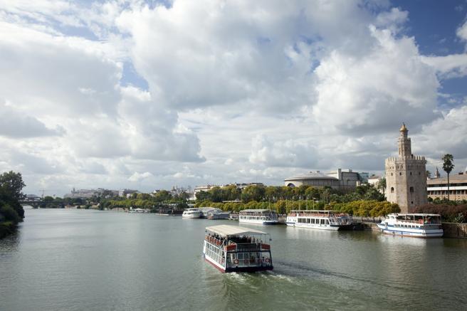 Cruceros por el Guadalquivir en Sevilla