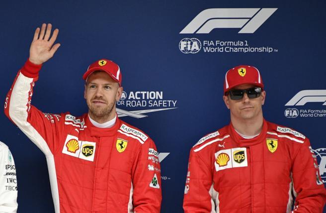 Vettel y Raikkonen saldrán desde la primera línea del GP de China de Fórmula 1