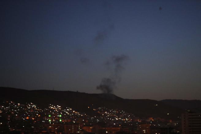 Las explosiones han resonado en toda la ciudad de Damasco, mientras en Estados Unidos,, Donald Trump anunciaba que se trataba de una ofensiva militar contra Siria.