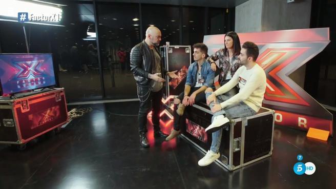 'Factor X': Jonny e Iñaqui pasan a la siguiente ronda después de una ruptura muy complicada