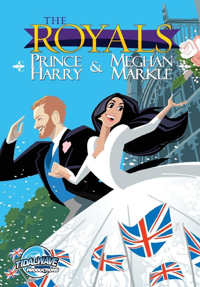 La cubierta del cómic dedicado a la historia de amor entre Markle y el príncipe Harry.
