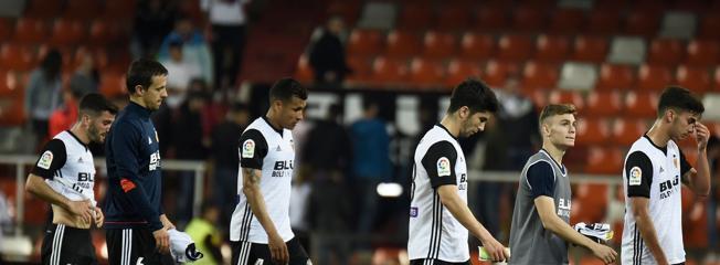 Decepción en las filas valencianistas