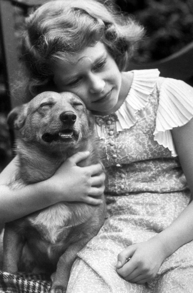 En julio de 1936, siendo una niña, se enamoró de esta raza de perros
