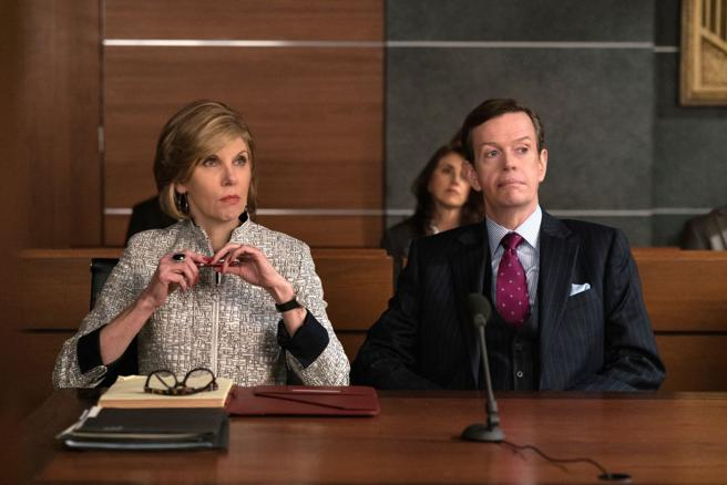 Dylan Baker, una de las caras conocidas que se pasa por The good fight.
