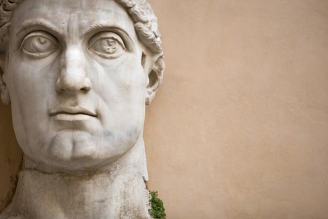 El emperador Constantino.