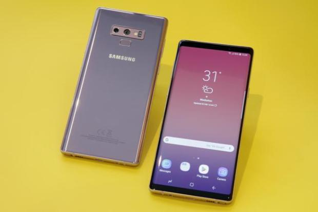 Imagen del Samsung Galaxy Note 9