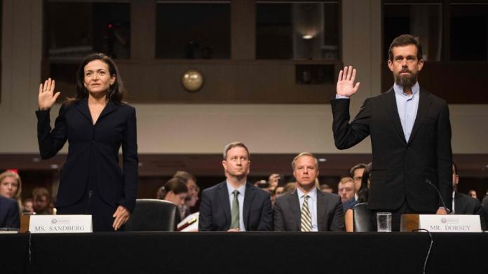 Facebook y Twitter tratan de convencer al Senado de que luchan contra los perfiles falsos