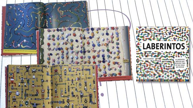 Detalle del libro 'Laberintos' de Théo Guignard