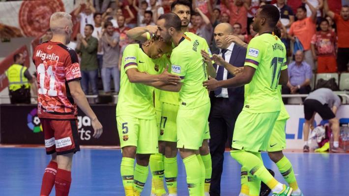 El Pozo pone al Barça contra las cuerdas en la final de la Liga