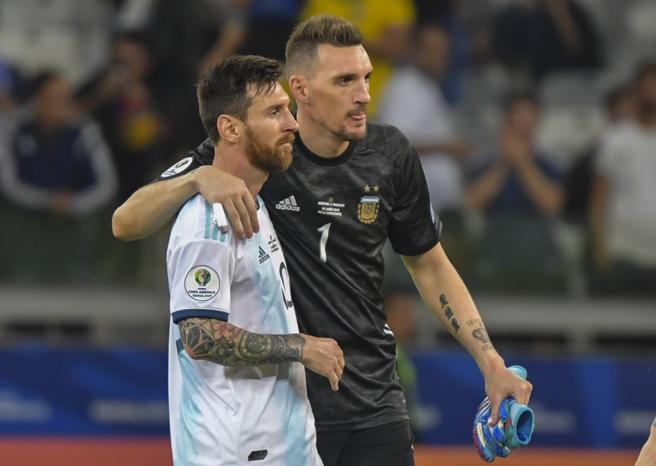 Messi y Armani fueron los grandes protagonistas de la Argentina.