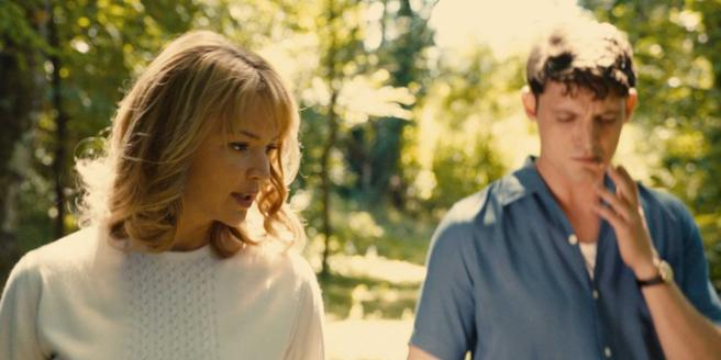 Virginie Efira and Niels Schneider in a scene from the movie
