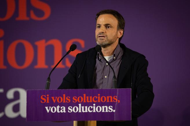 The candidate of the commons to the Congress for Barcelona, ​​Jaume Asens