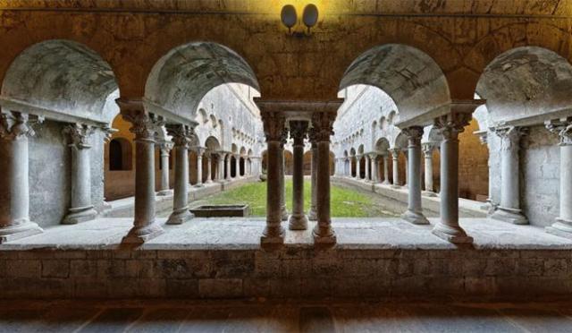 Monasterio de Santes Creus, en Tarragona, creado por la orden del Cister, hermana de la del Temple.