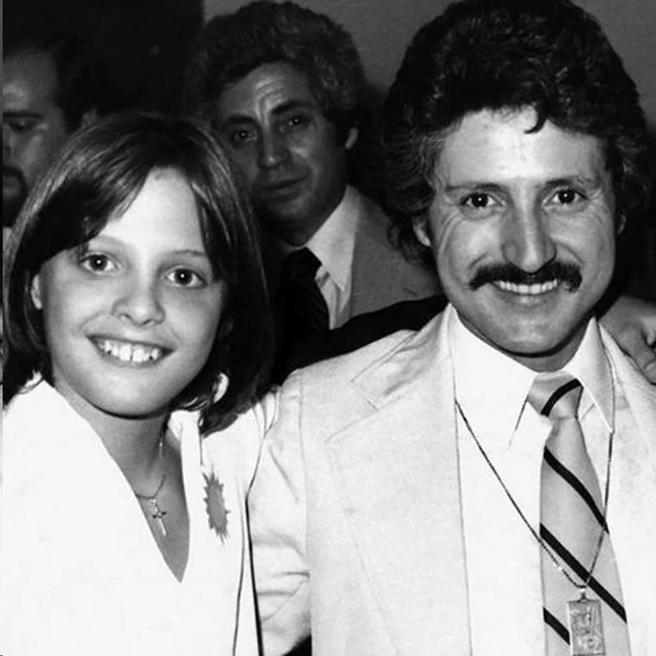 Luis Miguel and his father, Luisito Rey
