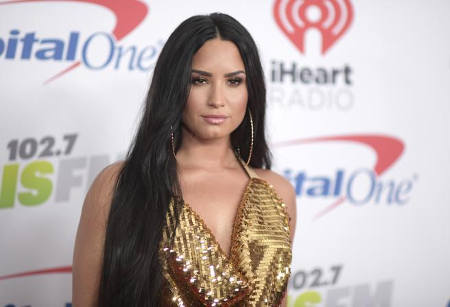 FILE - In this Dec. 1, 2017 file photo, Demi Lovato . (Photo by Richard Shotwell/Invision/AP, File)