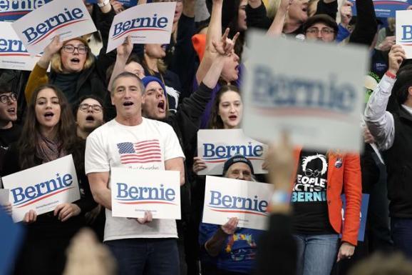 Apoyo al candidato Bernie Sanders