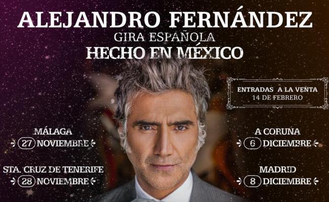 Alejandro Fernández Estrena Este Viernes 14 De Febrero Su