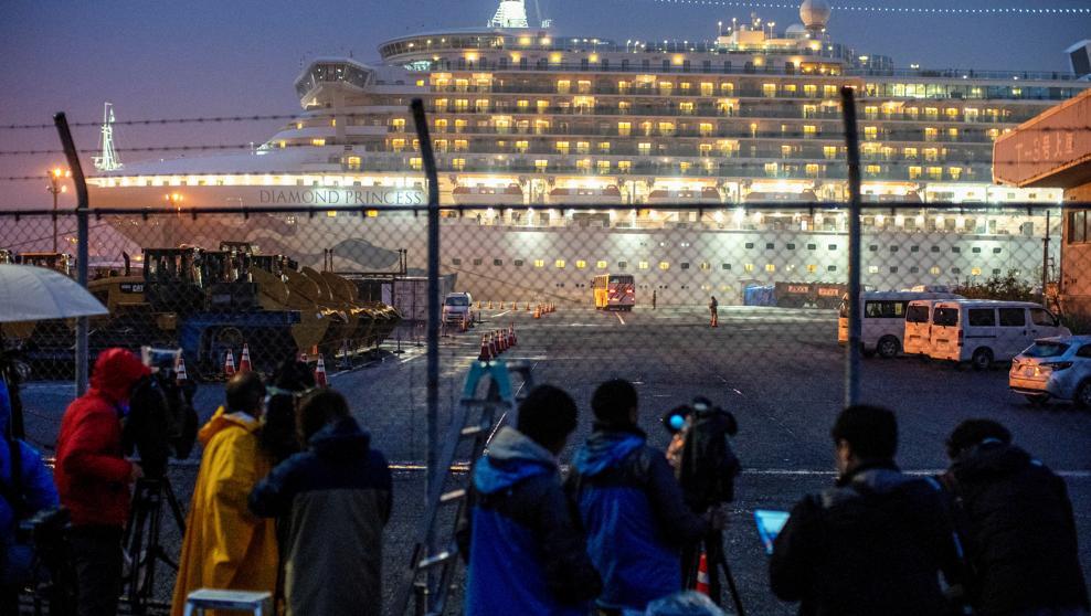Cuarenta estadounidenses del crucero de Japón dan positivo en ...