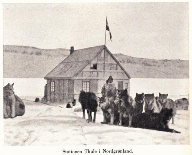 La estación ártica Thule, que fundaron Rasmussen y él / Wikimedia Commons