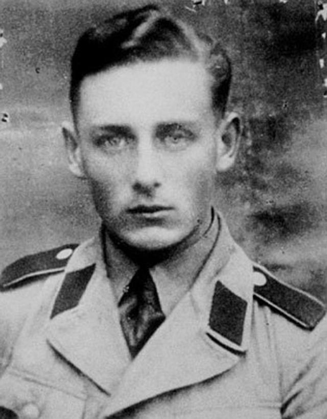 Helmut Oberlander, en una foto sin fechar