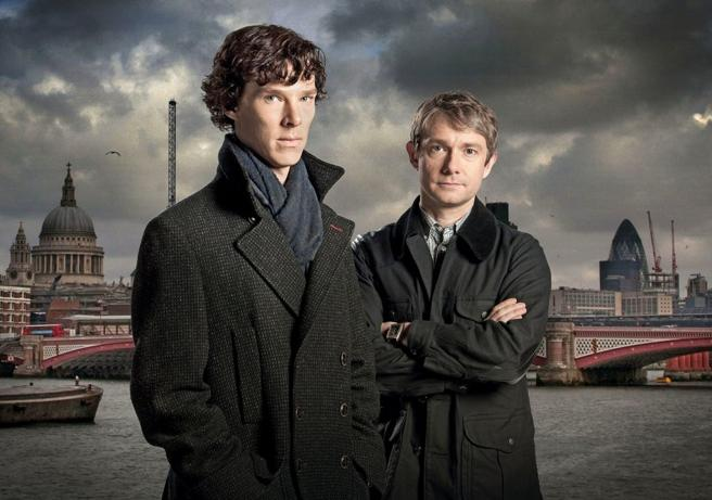 Benedict Cumberbatch got into the skin of Sherlock Holmes for the famous BBC series.